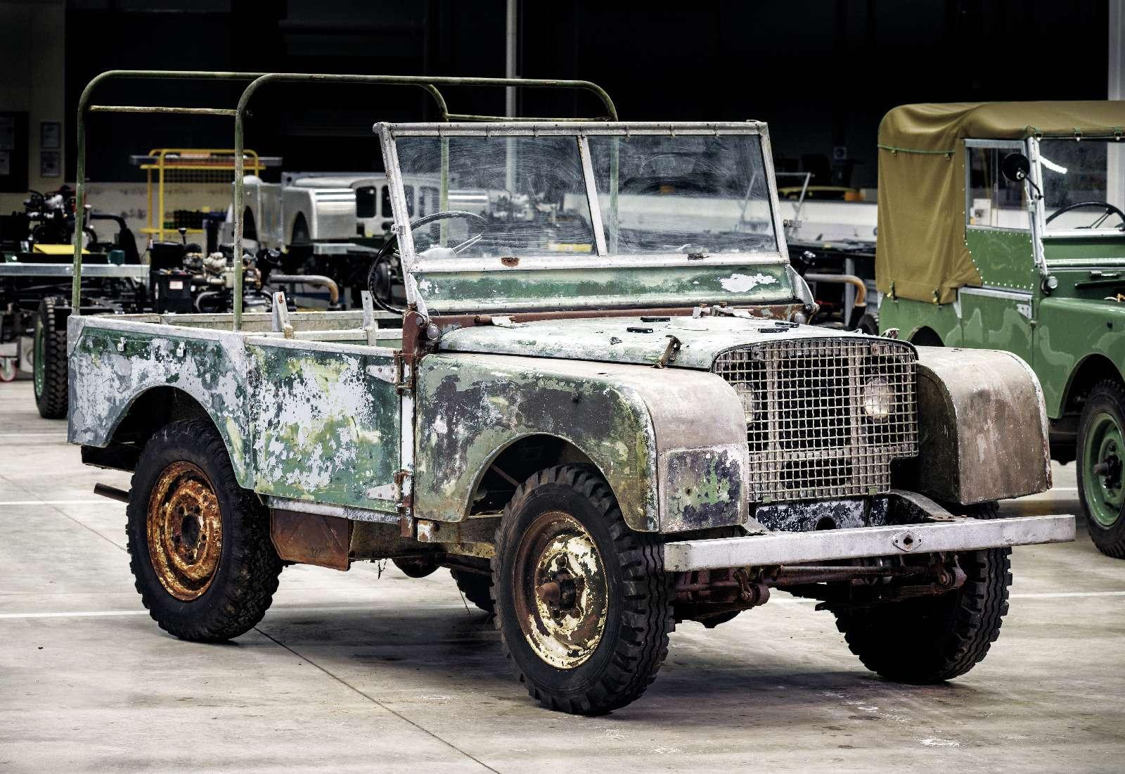 Land Rover нашел первый выпущенный компанией внедорожник— фото 834953