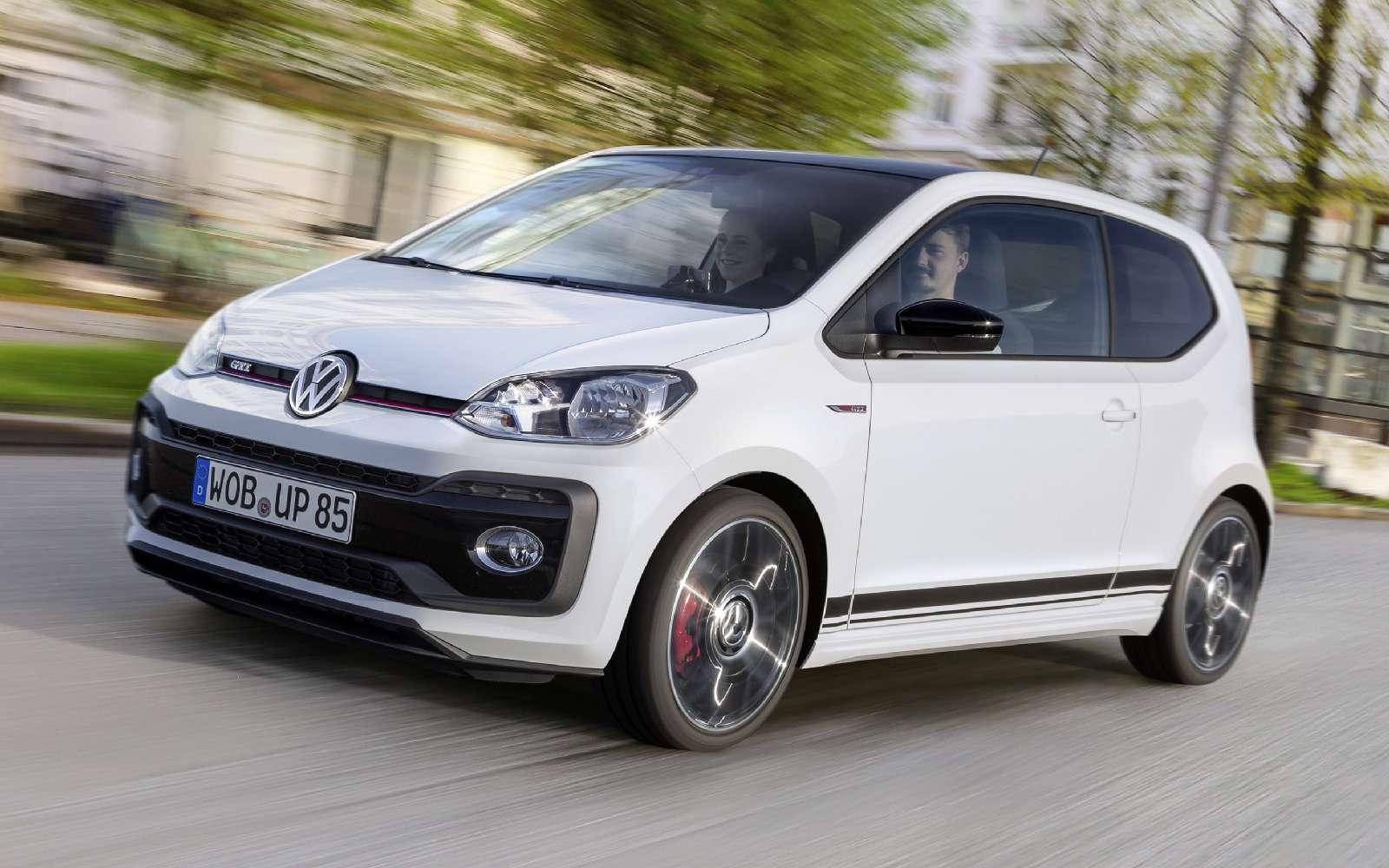 Volkswagen up! GTI: кто намаленького?— фото 753508