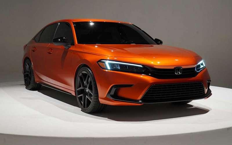 Новый Honda Civic: показали прототип