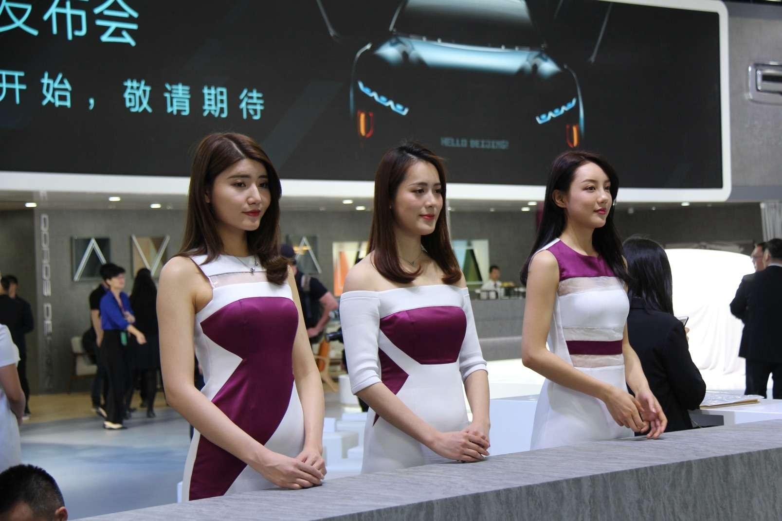 Девушки Пекинского автосалона— 2018— фото 865595
