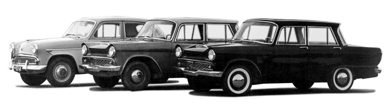 Fiat? BMW? Opel? — с чего срисовали Москвич-408/412 — фото 1083223