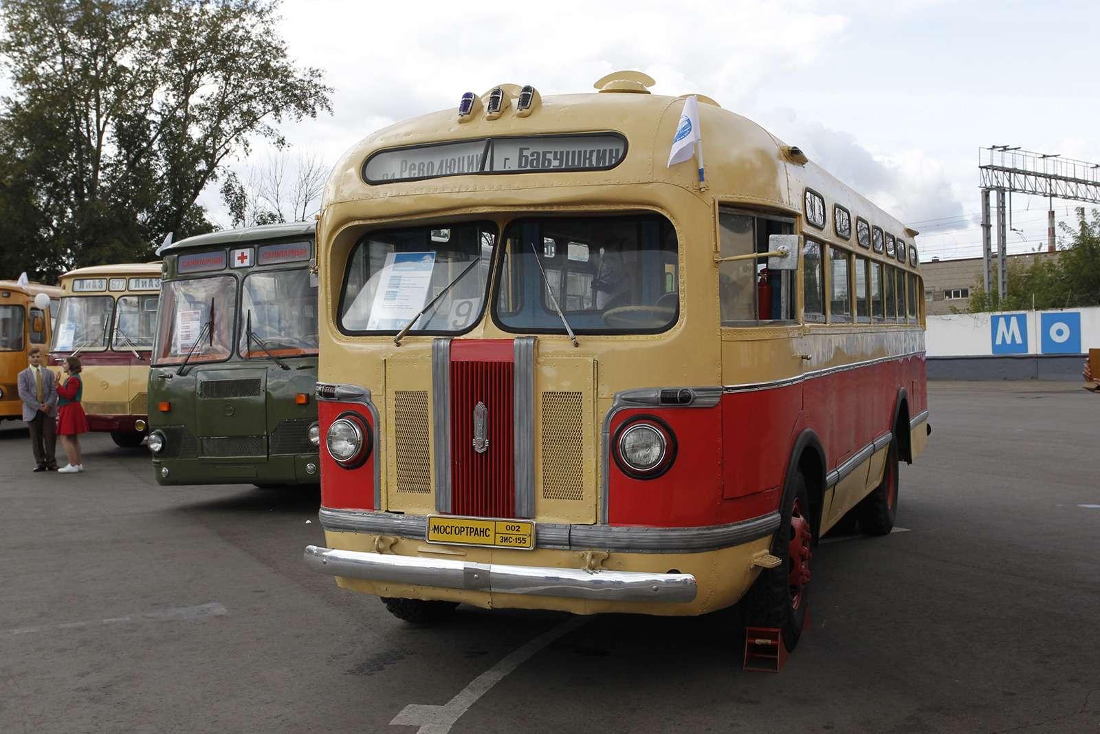 Автобусы нашего детства— выставка пассажирского транспорта— фото 792665