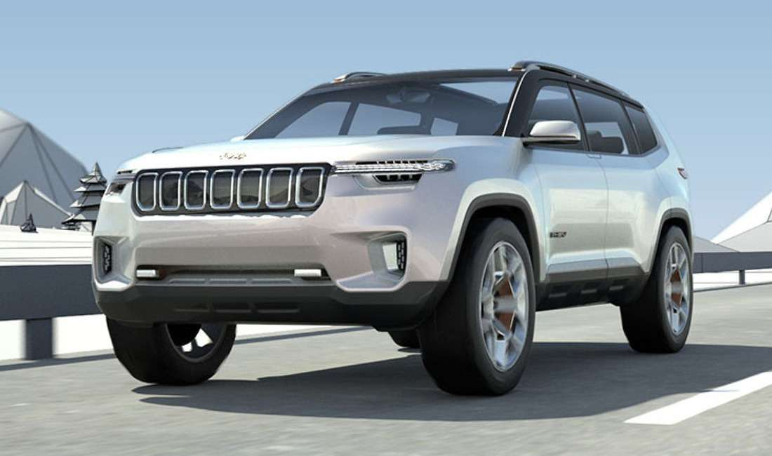 Новый Jeep Grand Commander: первые фото серийной машины— фото 739493
