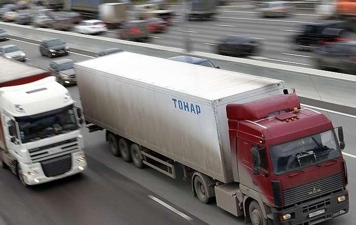 Московская область потребует компенсации заограничение движения грузовиков поМКАД