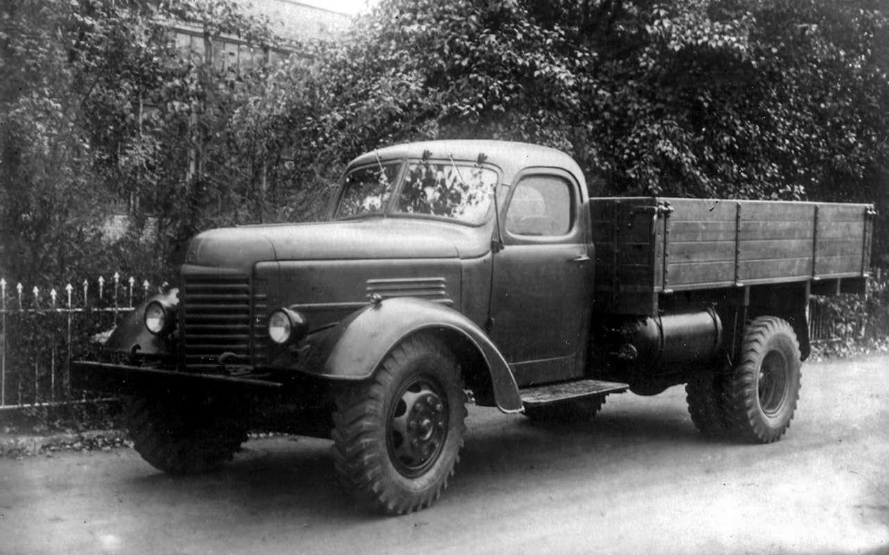 Заслуженный грузовик СССР— ретротест ЗИС-150— фото 1150083