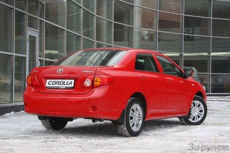 Toyota Corolla: Аленький цветочек— фото 92271