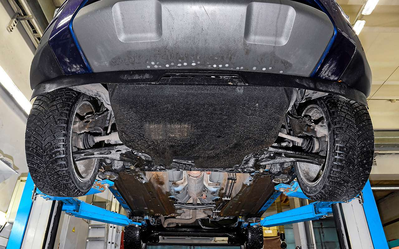 Лада XRAY Cross, Ford Ecosport иCreta: тест кроссоверов— фото 944624