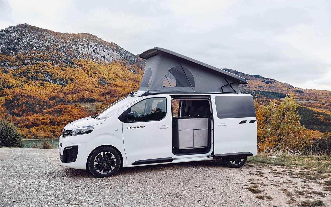 Премьера— весной: минивэн Opel превращается вкомпактный автодом— фото 1059677