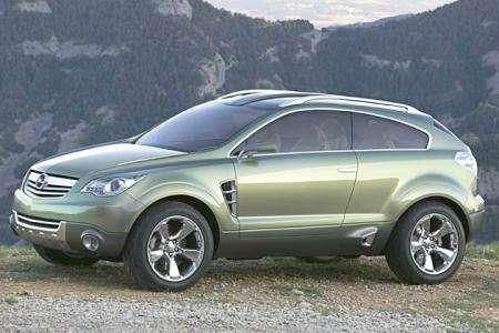 Новинки Франкфурта: будущий Opel Frontera— фото 105474