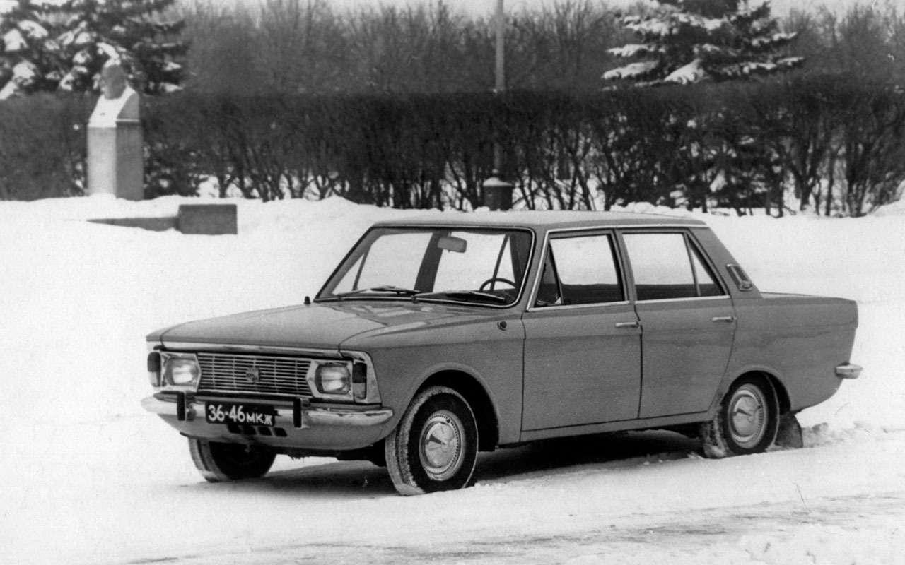 Уникальные версии Москвича-412: пикапы, спорткупе, хэтчбеки— фото 1053243
