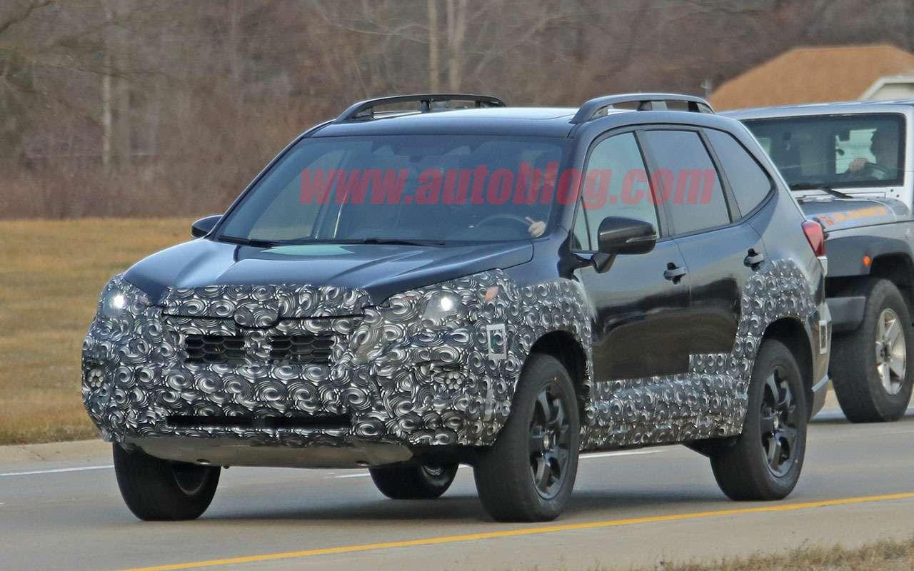 Subaru готовит суровый Forester— первые фото— фото 1209748