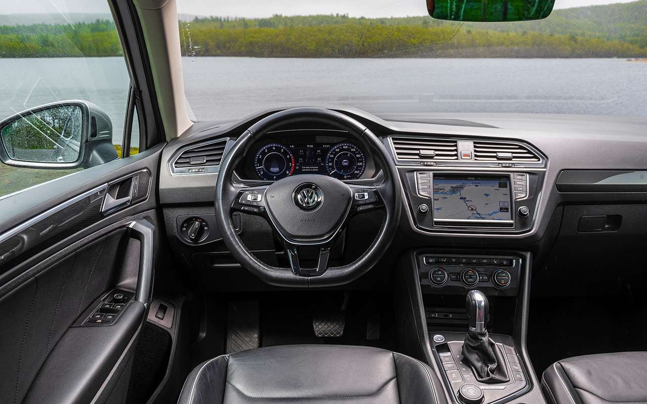 Volkswagen Tiguan— самый суровый тест— фото 893675