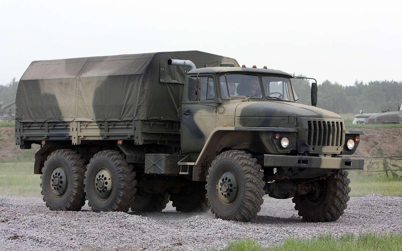 Суровый русский «проходимец»: история грузовика Урал— фото 992847