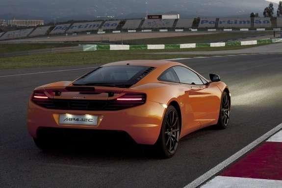 McLaren MP4-12C side-rear view