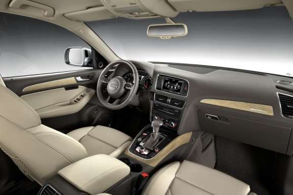 Facelifted Audi Q5 inside
