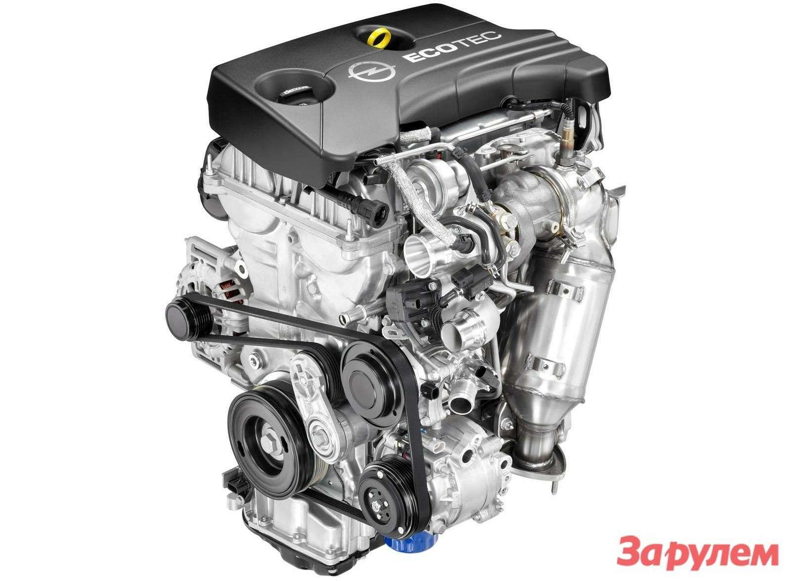 Новые моторы GMсерии Ecotec