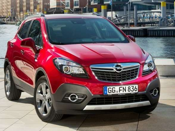 no copyright Opel Mokka 2013