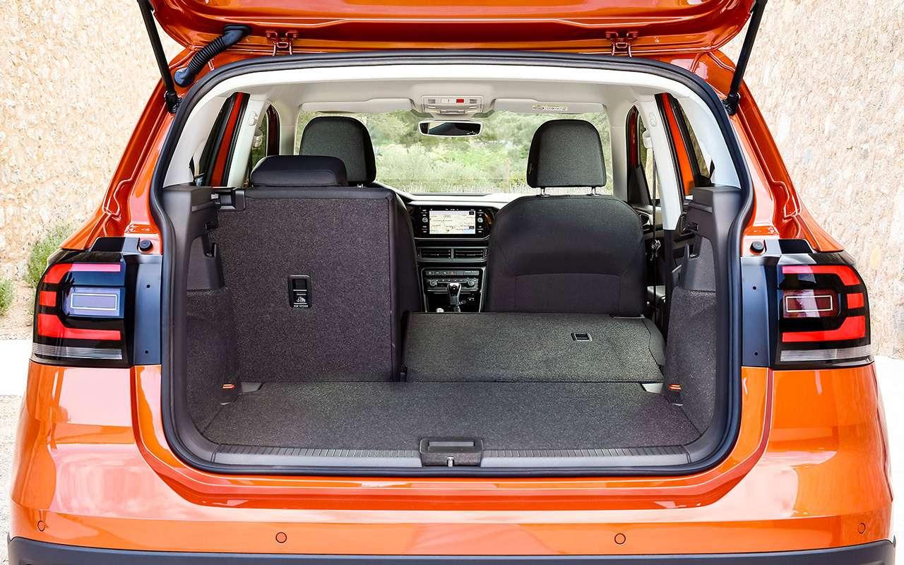 Тест самого маленького кроссовера Volkswagen— T‑Cross— фото 967777