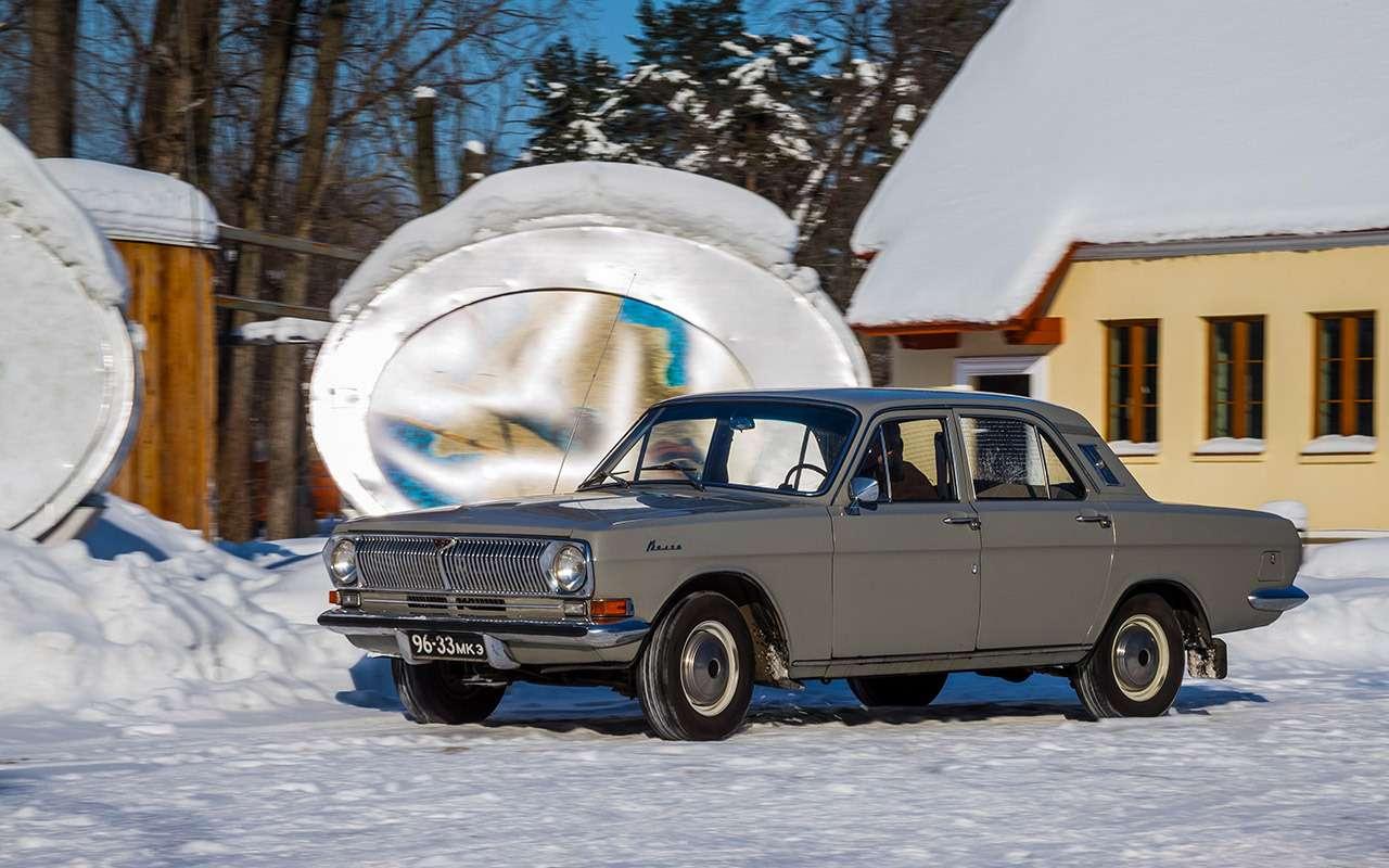Советские автомобили против иномарок— супертест кюбилею— фото 858362
