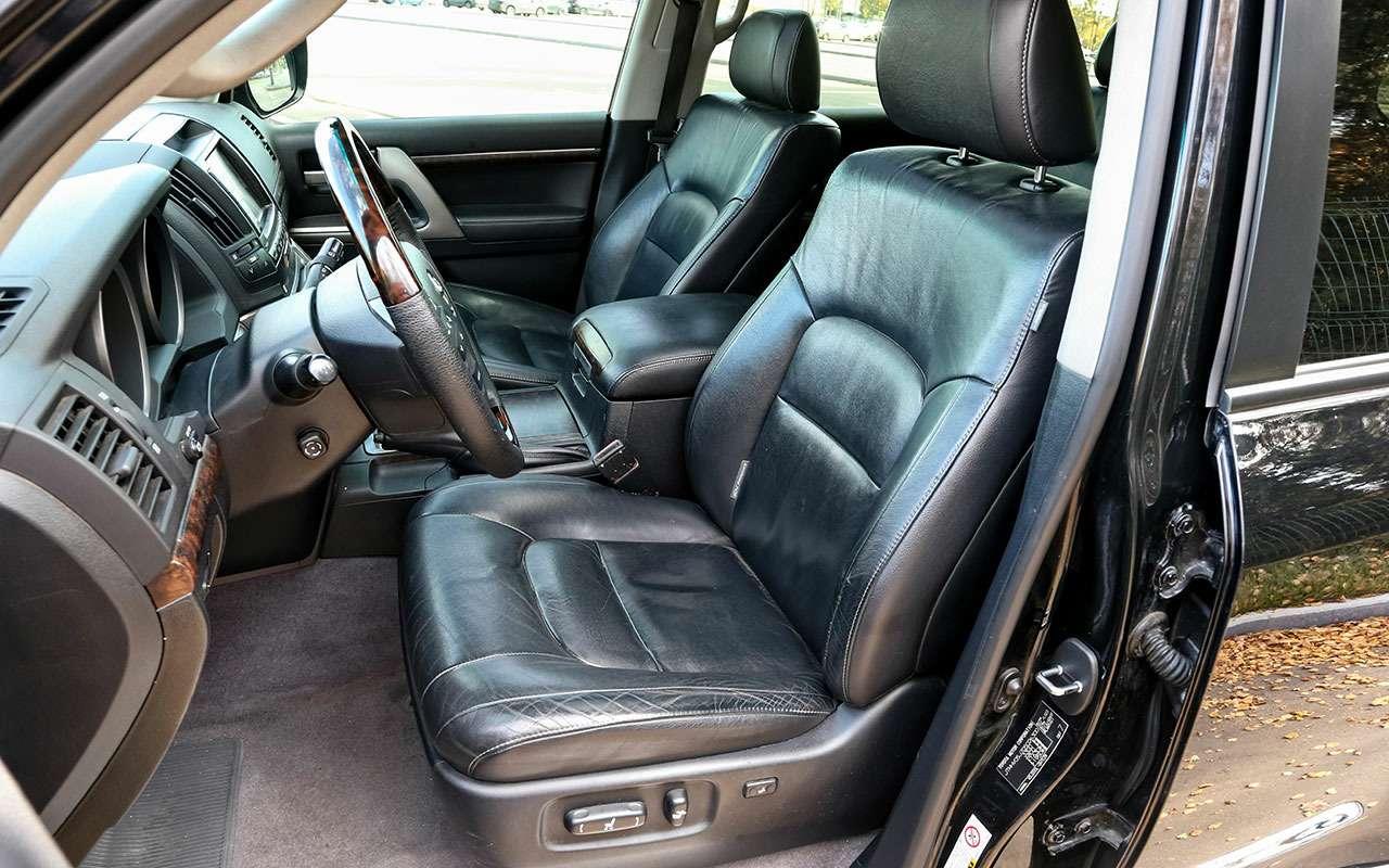 Новый УАЗ Патриот или 10-летний Land Cruiser 200: тест-драйв— фото 1058448