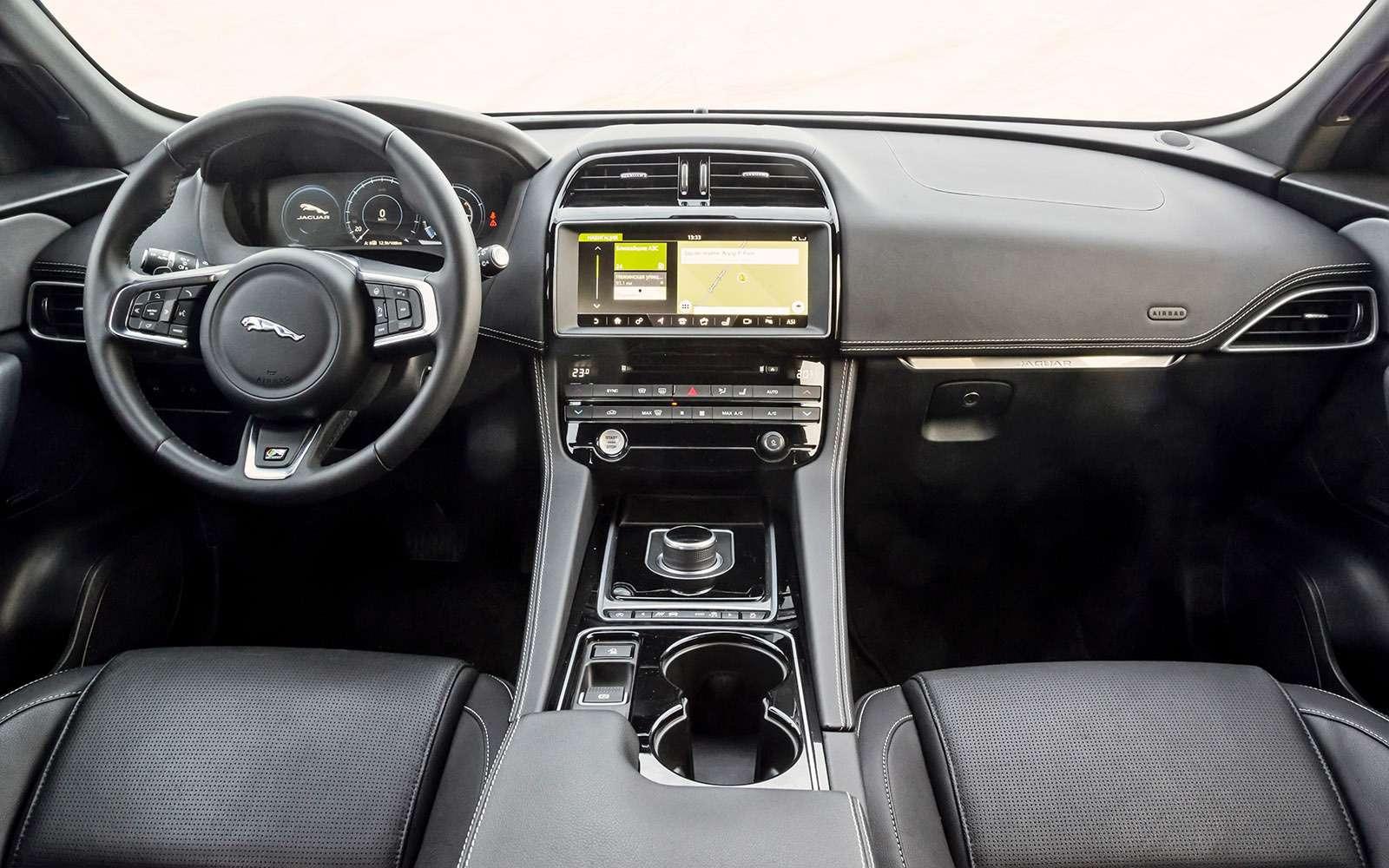 Тест премиум-кроссоверов: Lexus RX350, Cadillac XT5и Jaguar F-Pace— фото 721757