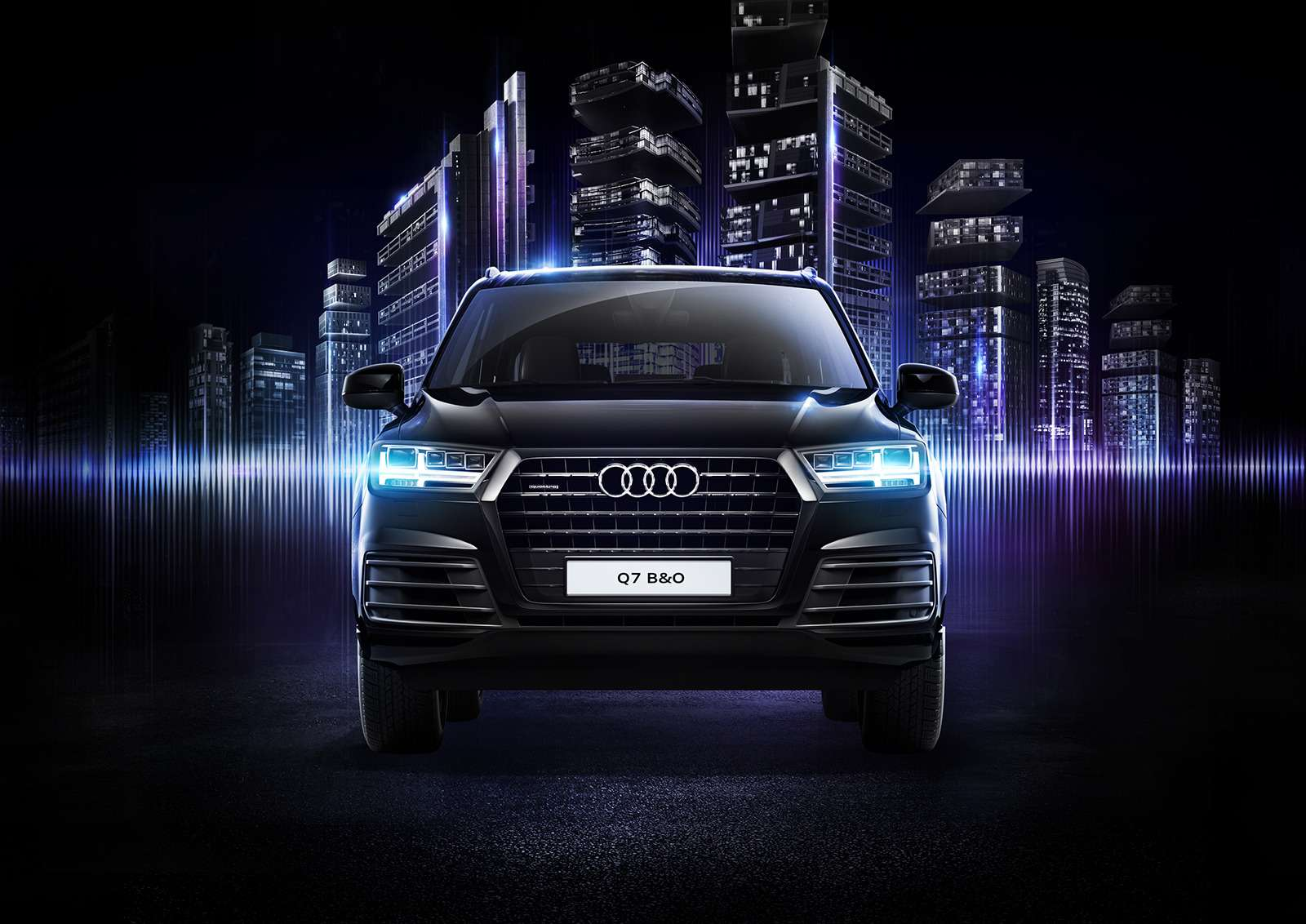 Audi Q7получил спецверсию дляроссийских меломанов— фото 783198