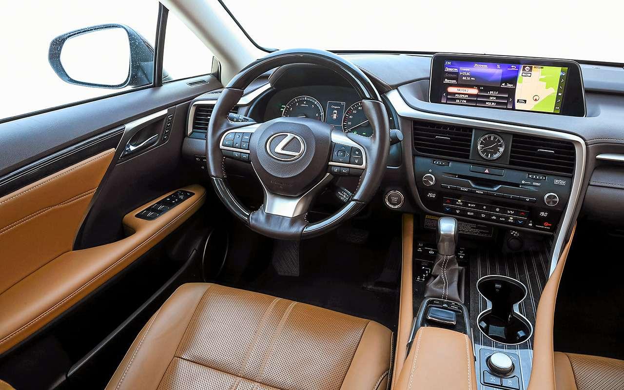 Новый VWTouareg, Land Rover Discovery иLexus RX350: большой тест-драйв— фото 899450