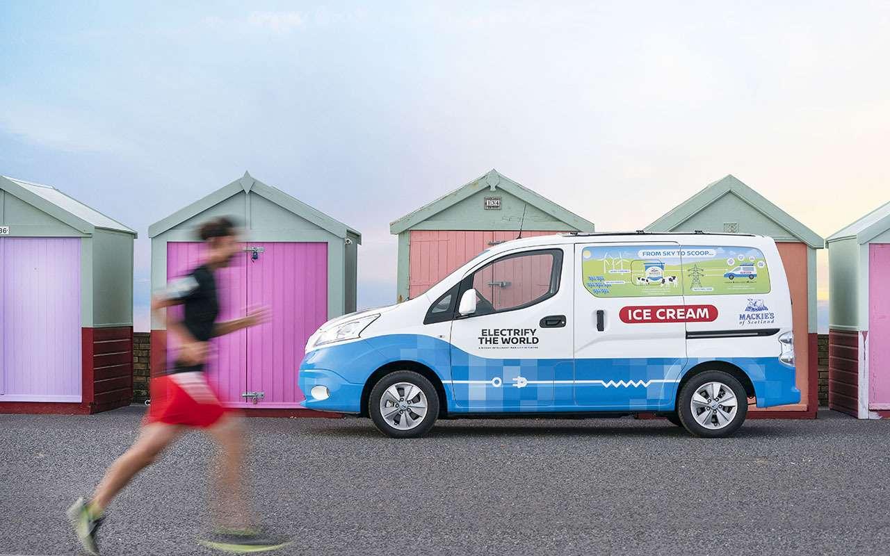 Nissan теперь угощает… мороженым!— фото 981783