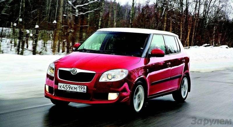 Peugeot 207, Chevrolet Aveo, Skoda Fabia: Кавалеры приглашают дам— фото 93083