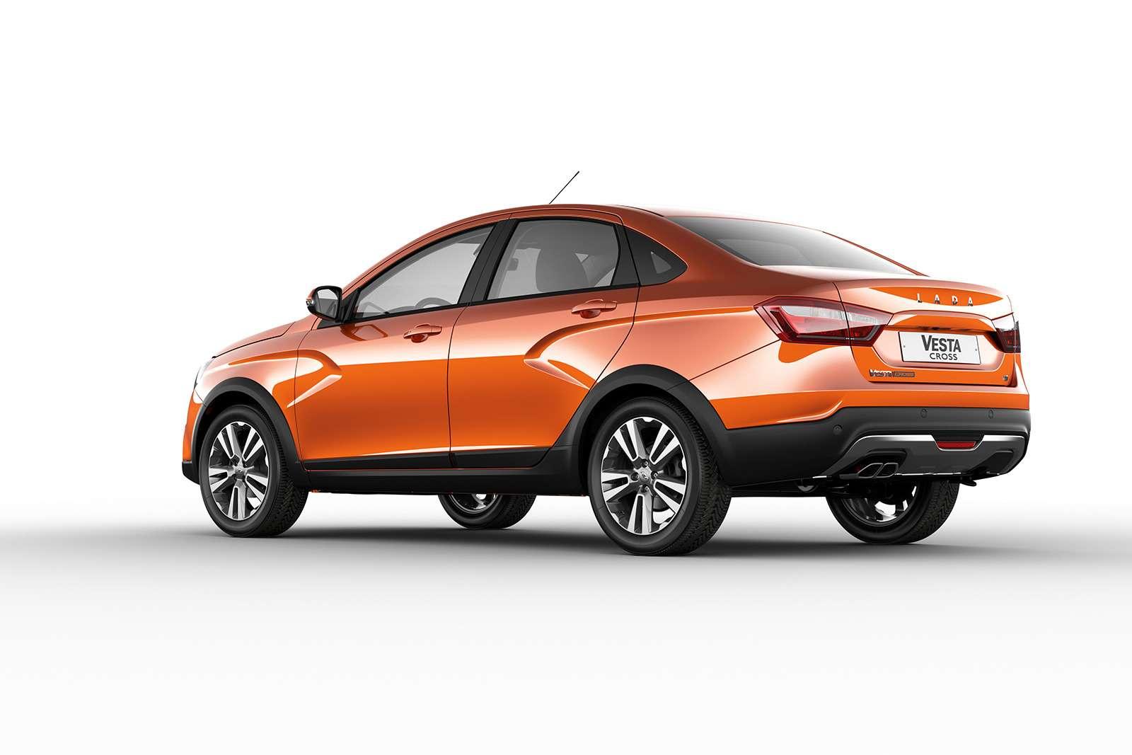 Представлена новая модель Lada. Иэто снова Cross— фото 863324