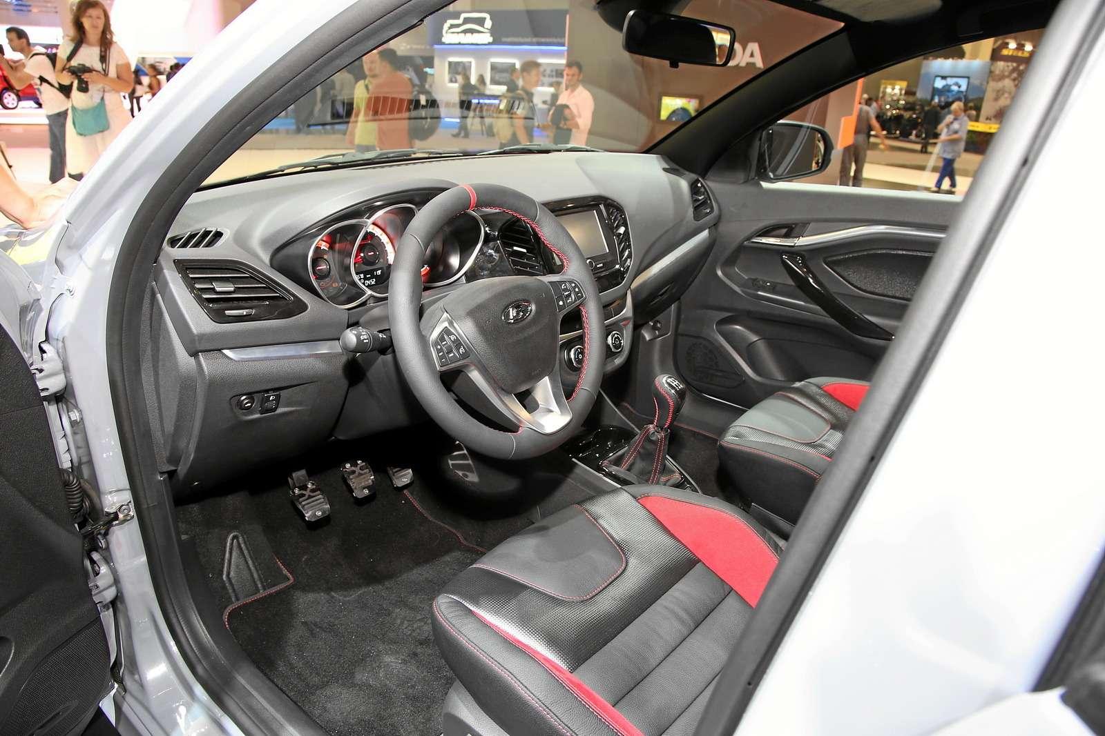 Спортивная Lada Vesta получит интерьер отконцепта— фото 624191
