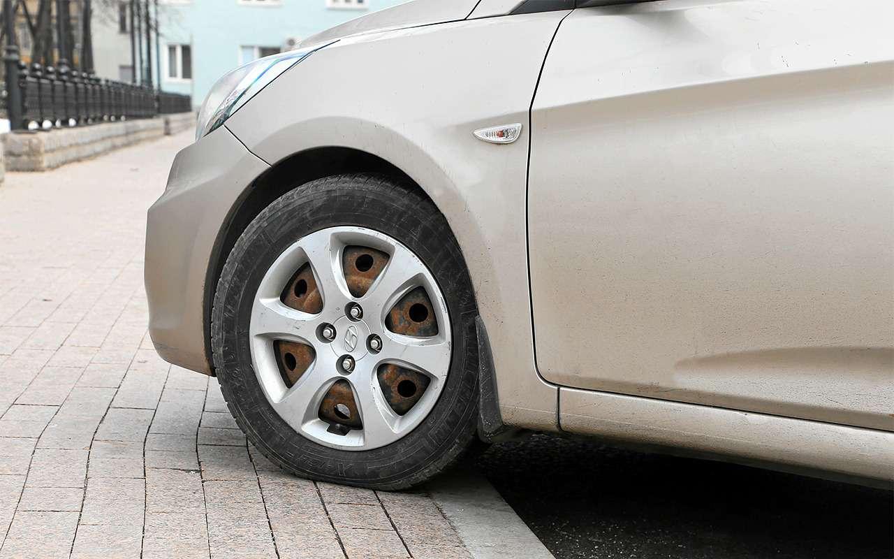 Какзаехать набордюр, чтобы не повредить машину?— фото 862191