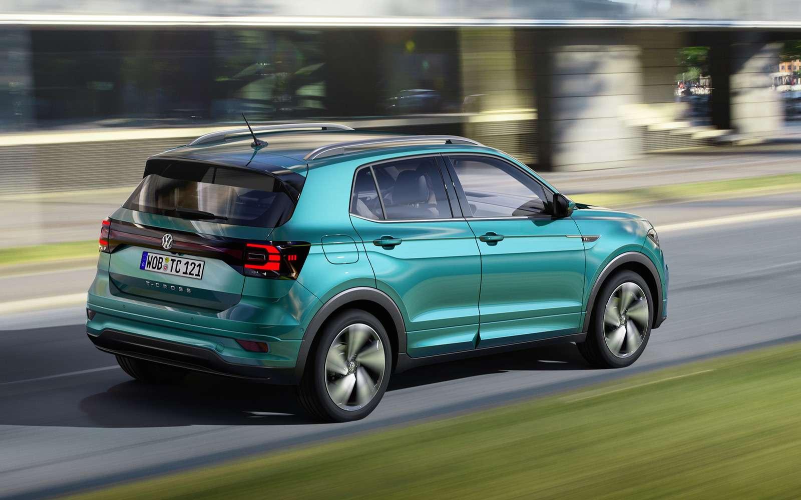 Новый кроссовер Volkswagen: онпоявится вРоссии!— фото 918191