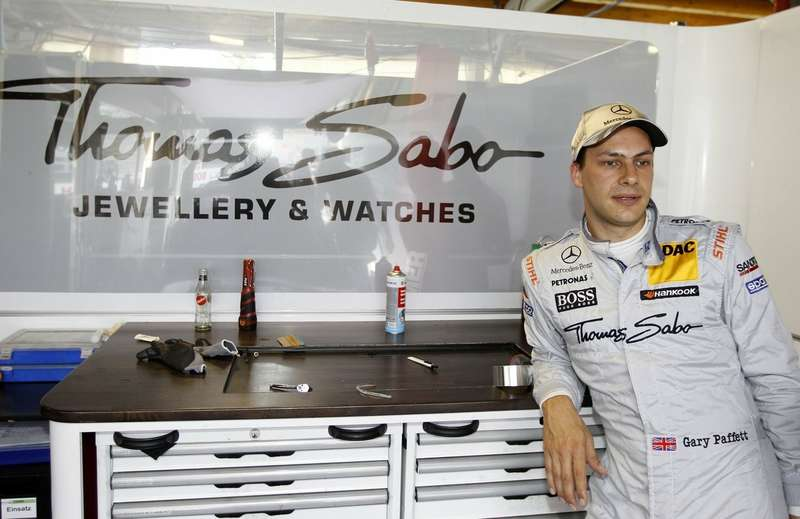 #11Gary Paffett, HWA, Thomas Sabo Mercedes AMG C-Coupé (2012)