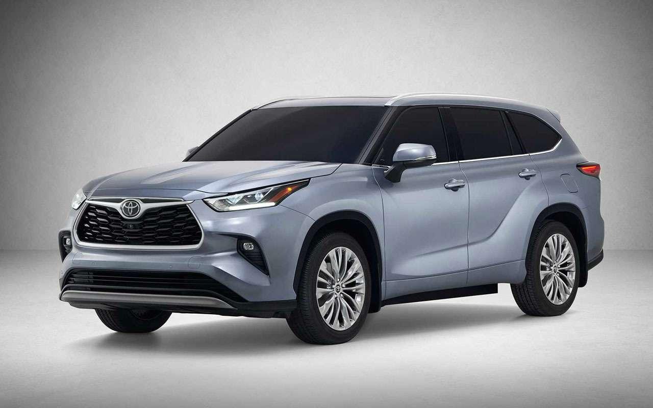 Новый Toyota Highlander: продажи вРоссии будут— фото 1091269