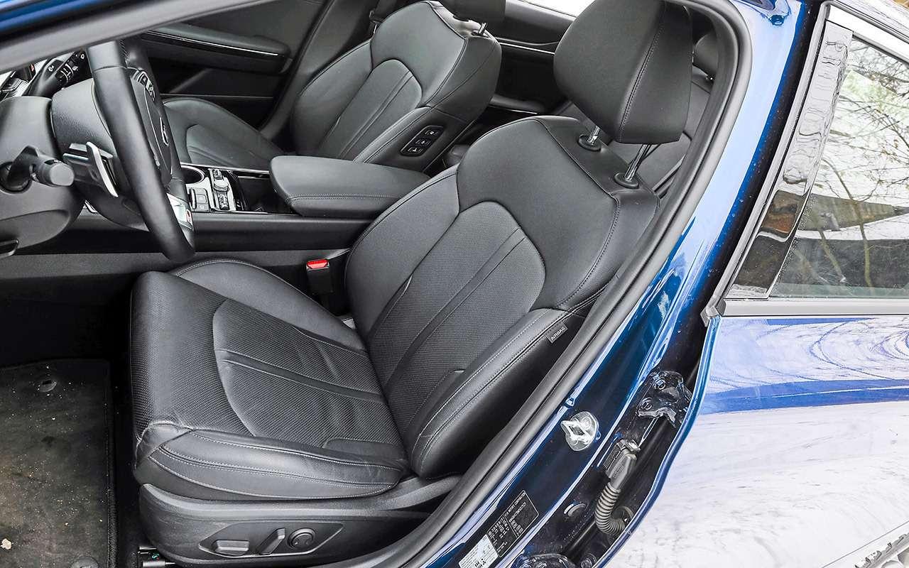 Skoda Octavia, Kia K5, Mazda 6— большой тест— фото 1221398