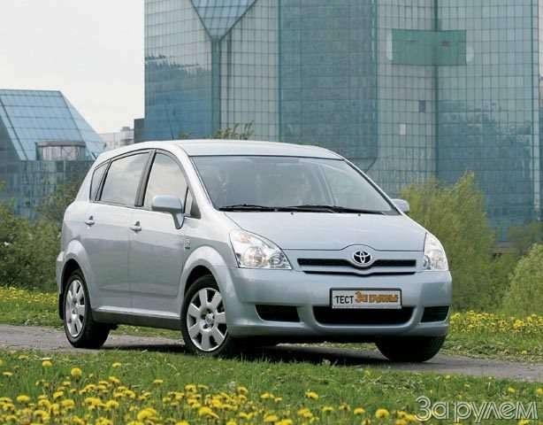Toyota Corolla Verso. Такая нужна самому!— фото 57099