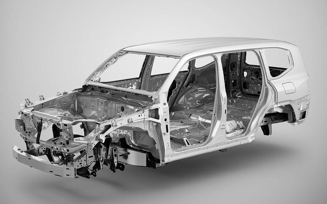 10фишек нового Toyota Land Cruiser (+первое видео!)— фото 1252634