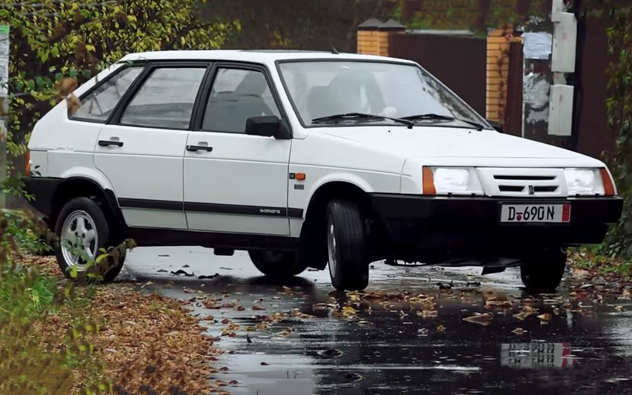 Тасамая реэкспортная Lada Samara: тест машины-мечты из90-х— фото 1020740