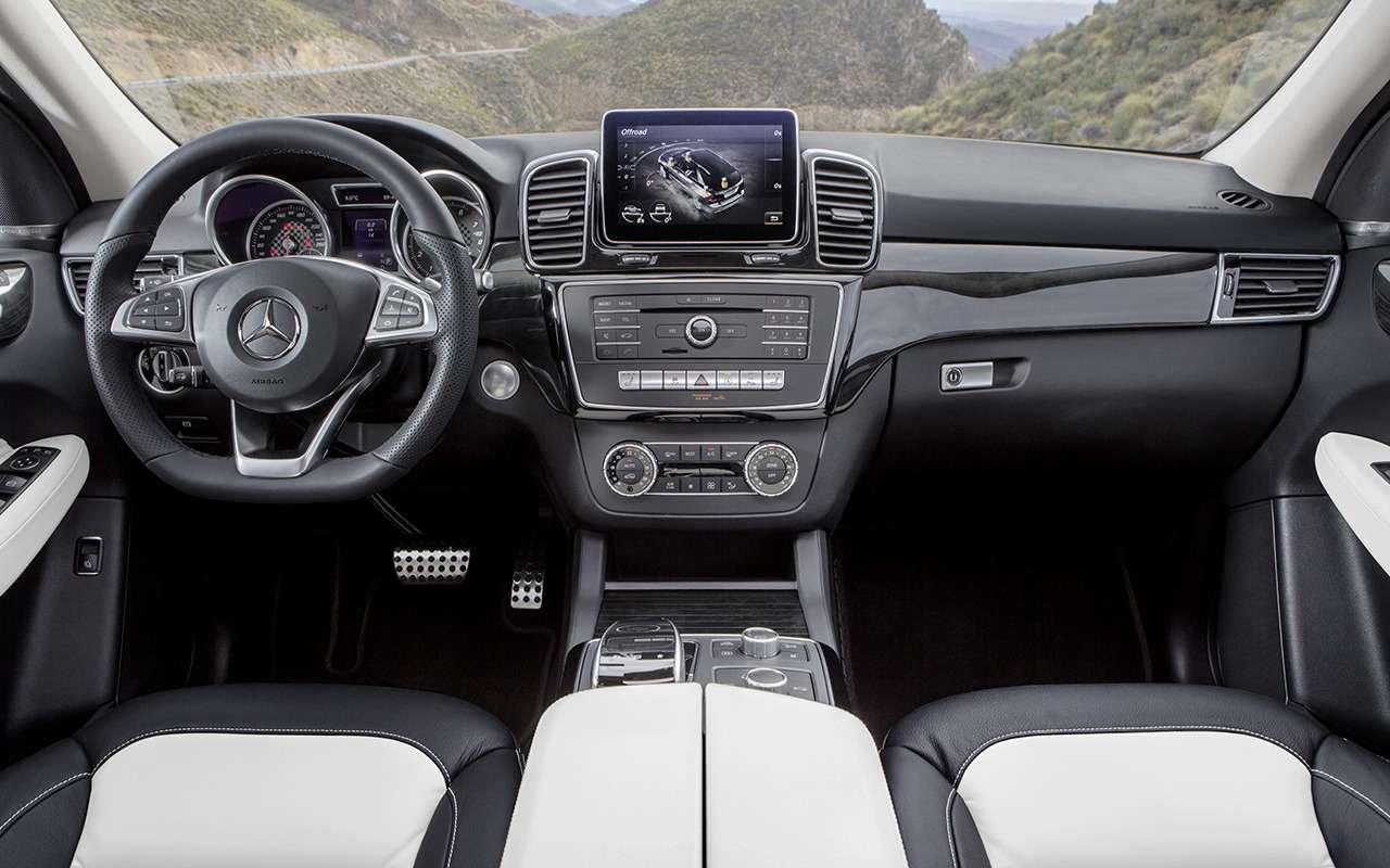 Mercedes-Benz GLE спробегом— все основные болячки— фото 1252116
