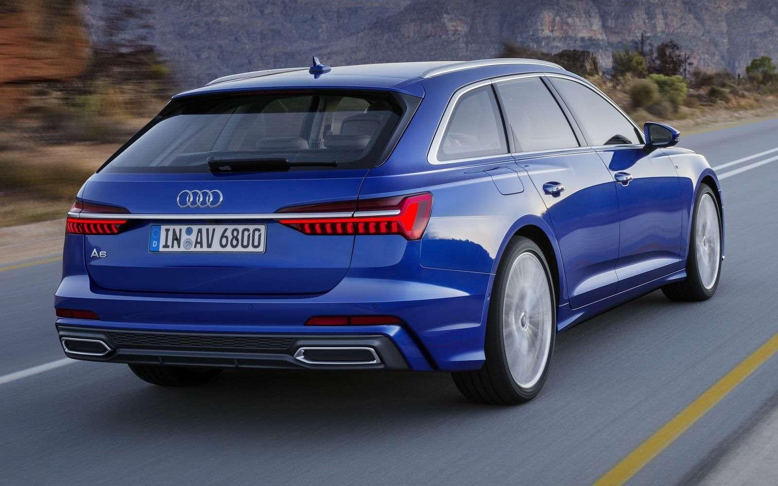 Новый Audi A6Avant: элегантность превыше всего— фото 861650
