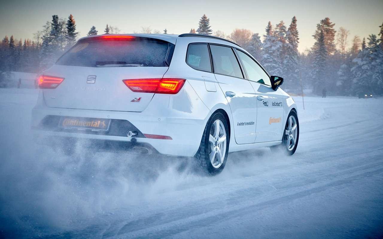 Возможности Continental IceContact 3 лучше раскрывают мощные, быстрые автомобили – такие, как Seat Leon Cupra.
