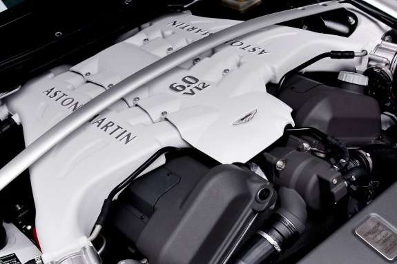 Aston Martin V12 5.9-liter engine