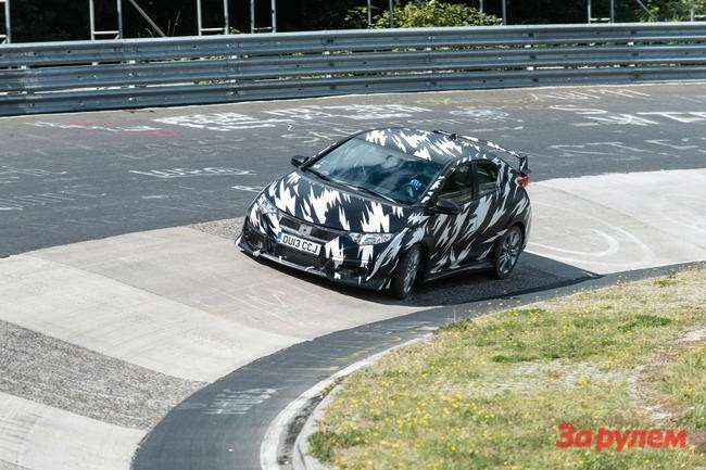 21154 Civic Type R testing
