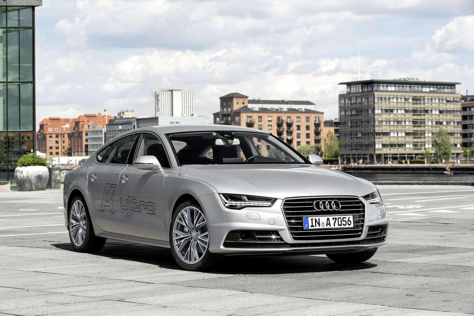 Обновленное семейство Audi A6/A7 хочет понравиться гаджетоманам— фото 579075