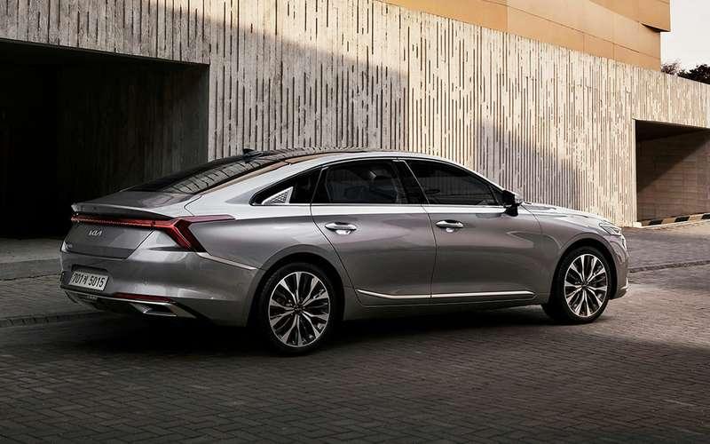 Kiaпредставила новый седан— K8