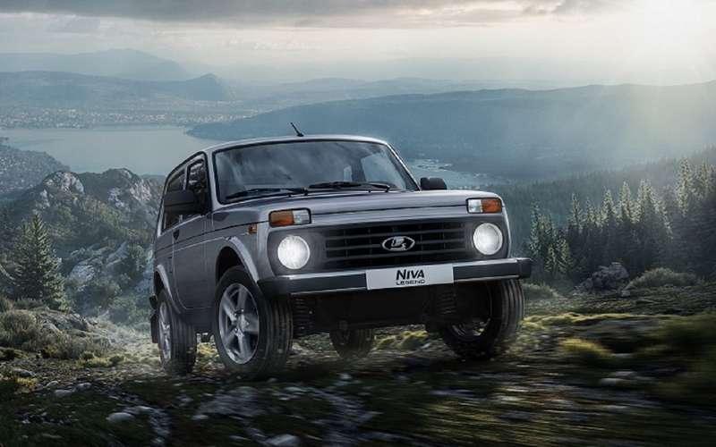Lada 4x4 переименована вNiva Legend