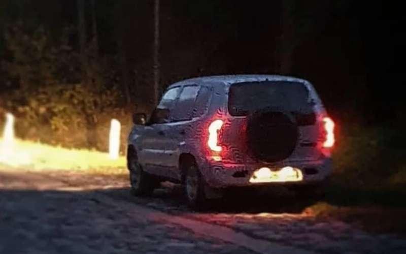 Обновленный внедорожник Lada Niva засняли вСочи