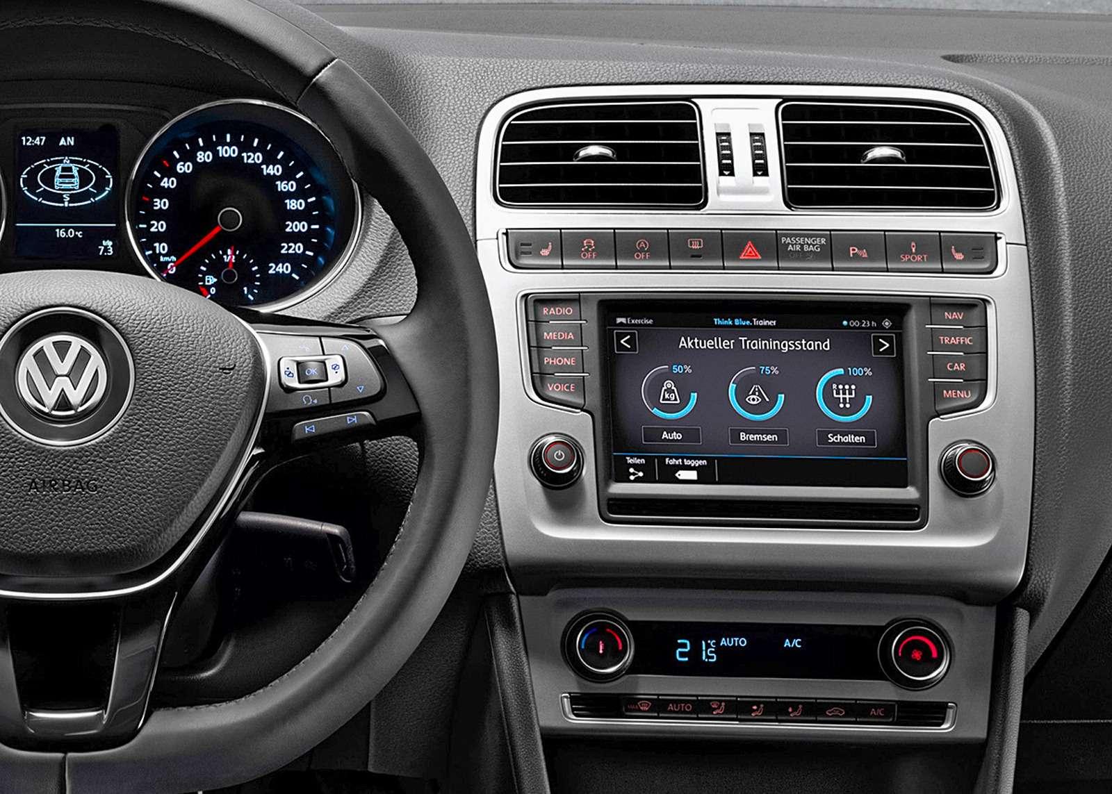 Mirrorlink-VW-instrumentbord