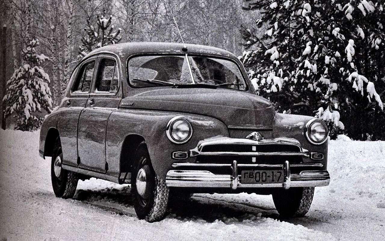 В гараже ушпионов: секретные автомобили СССР— фото 834134